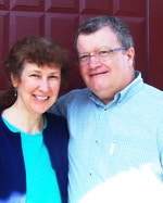 RUS GUSTAVSON & HIS WIFE TRINETTE